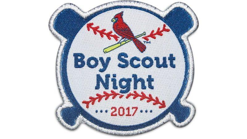 April 18 2017 St Louis Cardinals Boy Scout Patch Stadium Giveaway Exchange