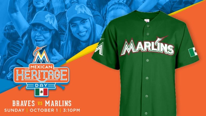 october 1 2017 miami marlins mexican heritage day