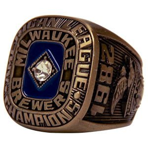 Brooklyn Cyclones Championship Replica Ring