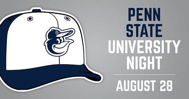 orioles giveaway nights 2019 august 28 2017 baltimore orioles penn state night cap 5320