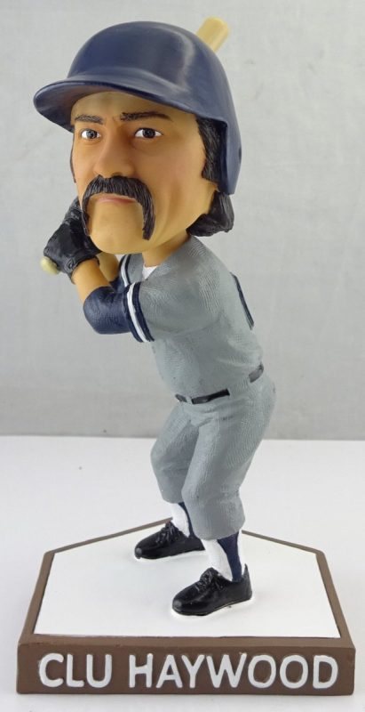 Akron Rubberducks Clu Haywood Bobblehead 6-30-2018