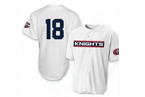 Charlotte Knights Sox 20th Season Replica Youth Jersey 7-31-2018