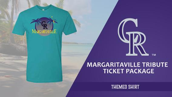 Colorado Rockies Margaritaville-themed shirt. 6-9-2018