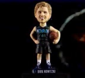 Dallas Mavericks – Dirk Twentieth Season Bobblehead 3-30-2018