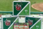 Fort Wayne TinCaps Lunch Box Tin 4-7-2018