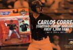 Fresno Grizzlies Carlos Correa Starting Lineup 5-12-2018