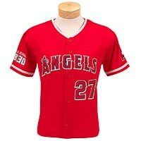 Los Angeles Angels Youth Trout Jersey 6-24-2018