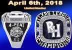 Midland Rockhounds Replica Ring 4-6-2018