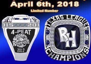 Midland Rockhounds Replica Ring 4-6-2018