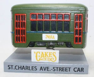 New Orleans Baby Cakes Street Car Bobble 6-2-2018