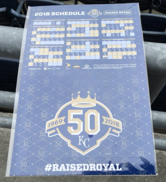 The Royals on Thursday announced their promotions and they will include a heavy dose of 50th season items, along with some old favorites.