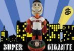San Jose Giants Super-Gigante Bobblehead 4-13-2018