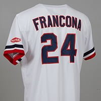 Cleveland Indians Terry Francona 1988 Jersey 5-26-2018