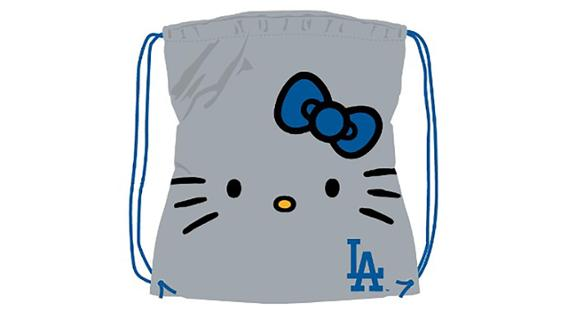 12e599785d This special event ticket package includes your ticket to the game and an  exclusive Hello Kitty x Dodgers drawstring tote bag