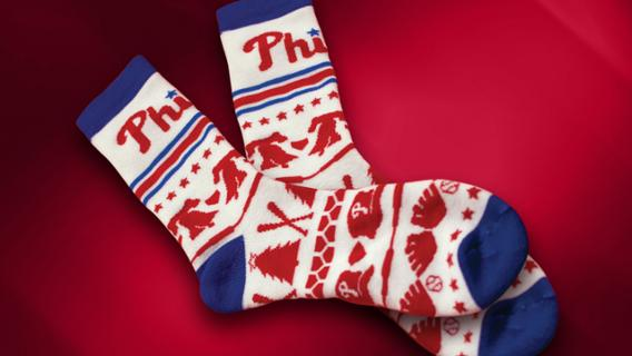 Phillies Christmas In July Giveaway 2020 July 25, 2018 Philadelphia Phillies   Christmas in July Socks