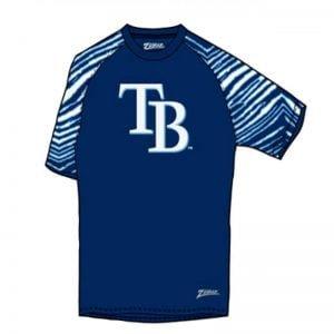 Tampa Bay Rays Zubaz T-Shirt 6-30-2018