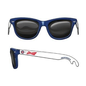 Chicago Cubs Bottle Opener Sunglasses 7-20-2018