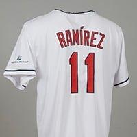 Cleveland Indians Jose Ramirez Jersey 7-7-2018