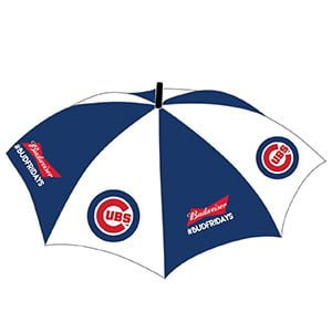 Chicago Cubs Umbrella Hat 8-2-2018