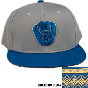 Milwaukee Brewers African American Heritage Hat 8-3-2018