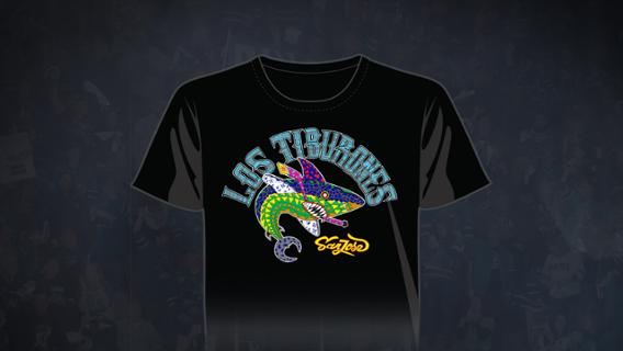 ae326d138 The Los Tiburones Shirt(s) will be shipped directly to the purchasers home  address
