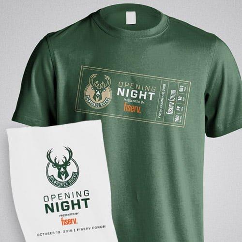 bucks t shirt giveaway playoffs