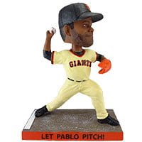Let Pablo Pitch Bobblehead