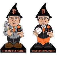 Mike Krukow OR Duane Kuiper Gnome