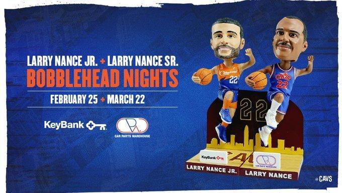 Cleveland Cavaliers - Larry Nance Jr. Bobblehead