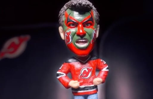 Puddy 90s themed bobblehead
