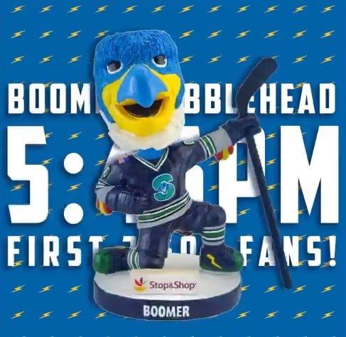 Springfield Thunderbirds Boomer Bobblehead