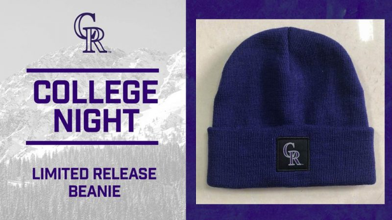 College Night Beanie