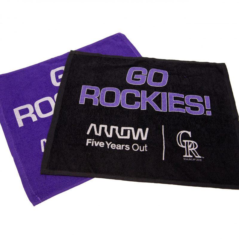 Rockies Rally Towel