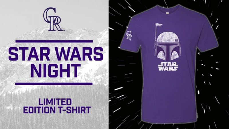 STAR WARS™ themed Colorado Rockies T-Shirt