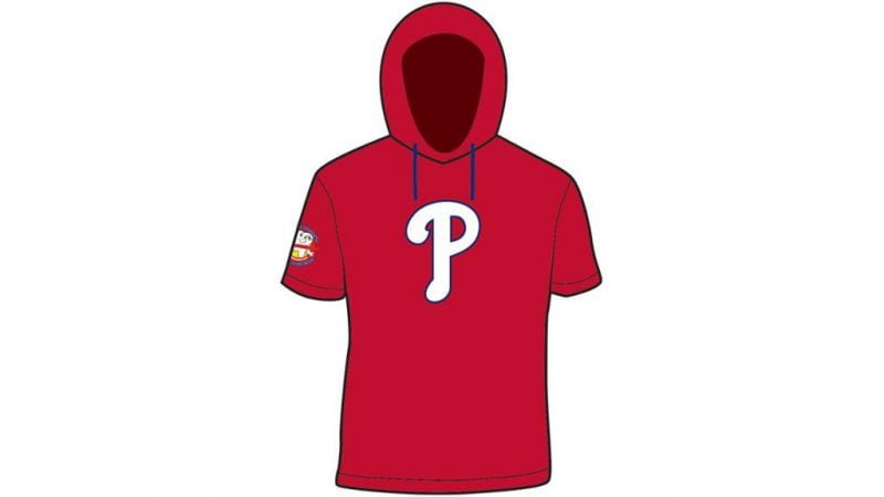 Phillies Hooded Shirt