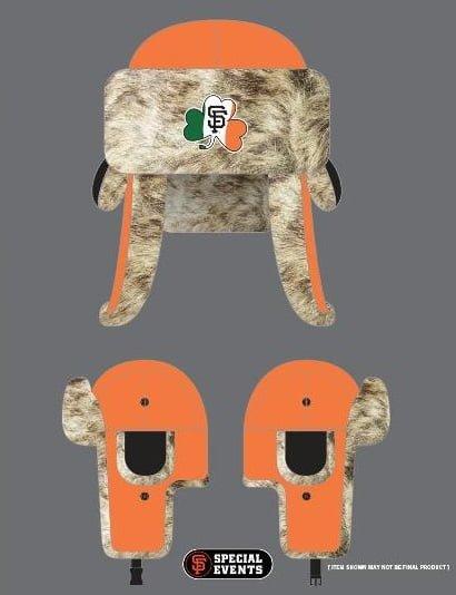 Irish-themed Giants 2 Flaps Down Hat