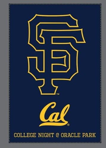 UC Berkeley/Giants Blanket!