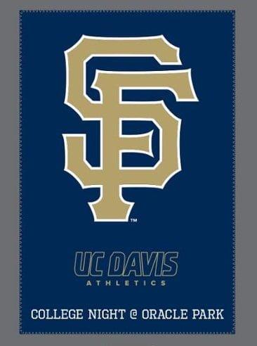 UC Davis Giants Blanket