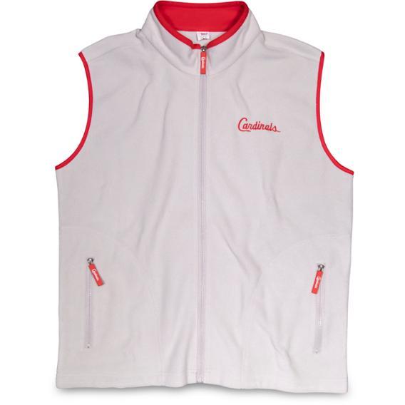 Cardinals Adult Fleece Vest