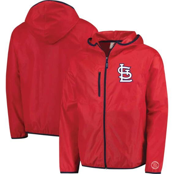 Adult Windbreaker Cardinals