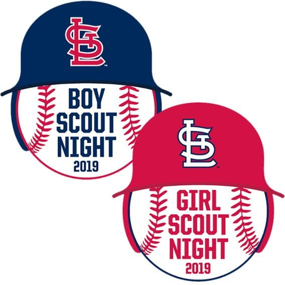 Cardinals Boy Scout and Girl Scout Patch
