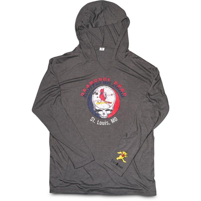 Grateful Dead lightweight hooded pullover