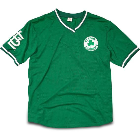 Green Mesh Jersey