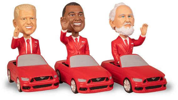 Mystery Hall of Fame Opening Day Car Parade Bobblehead