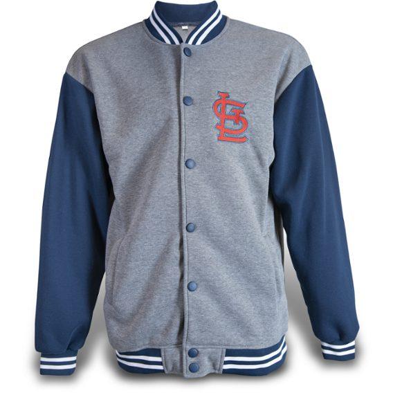 Cardinals letterman sweatshirt jacket