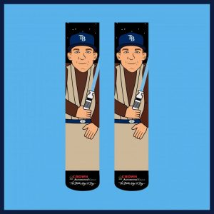 Jedi Joey Wendle Socks