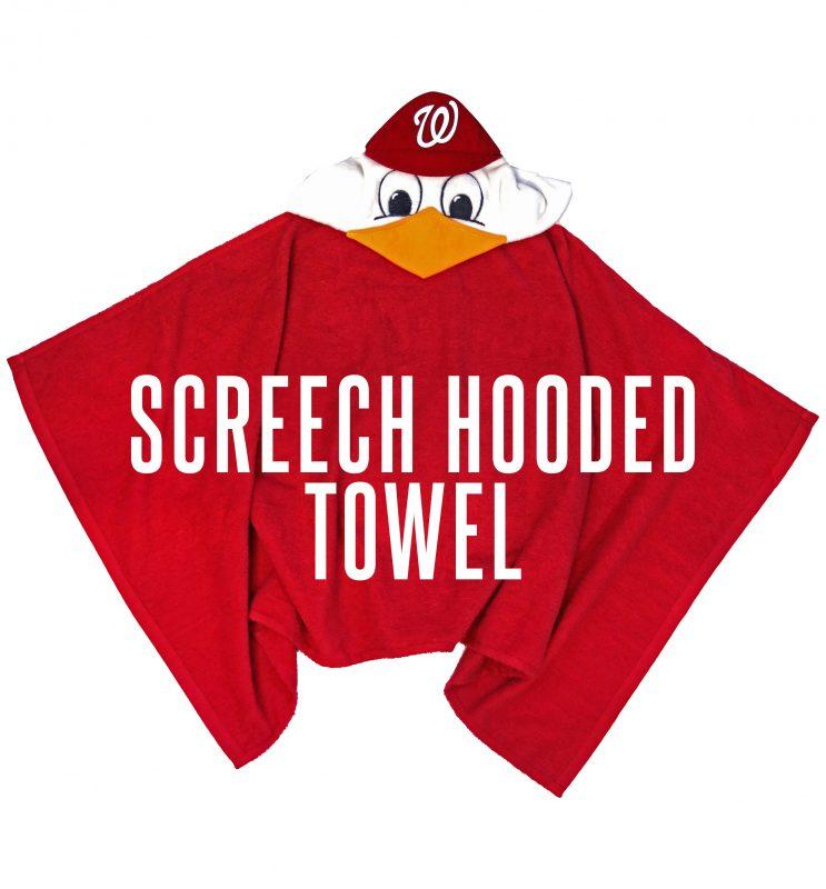 Kids Screech Hooded Towel