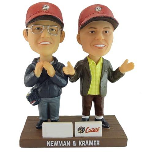 Altoona Curve Newman & Kramer dual bobblehead