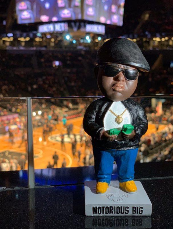 Brooklyn Nets – Biggie Bobblehead