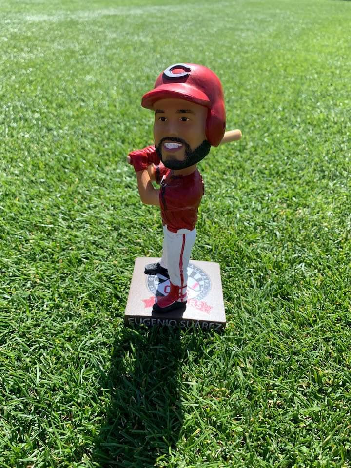 Cincinnati Reds – Eugenio Suarez Bobblehead